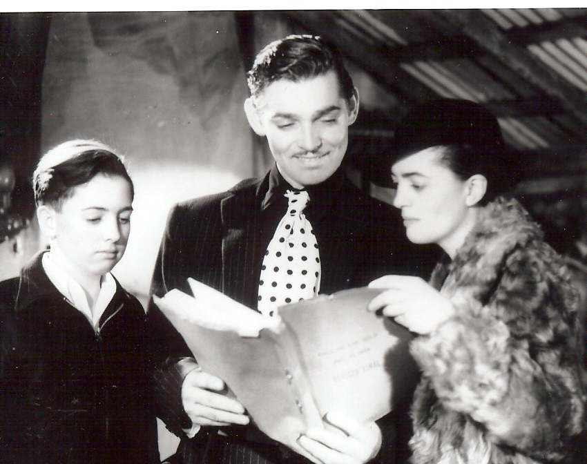 Park Abbott, Clark Gable, Joan London