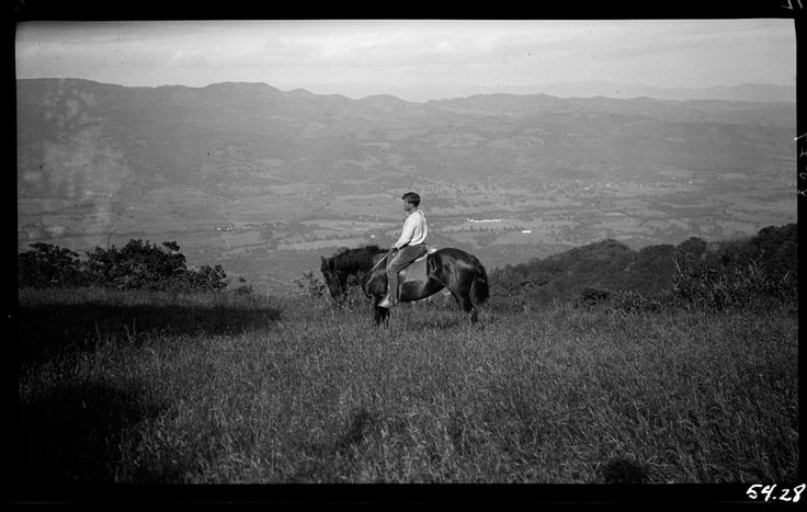 Jack London on Horseback