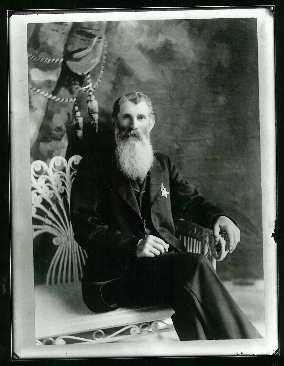 John London in old age.
